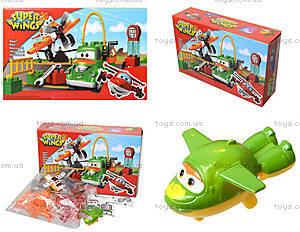 Конструктор для детей «Супер крылья: Джетт и его друзья», Y032