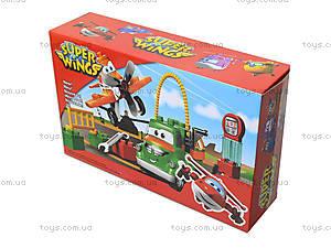 Конструктор для детей «Супер крылья: Джетт и его друзья», Y032, игрушки