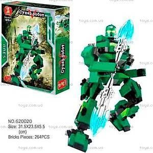 Конструктор «Супер-робот», 264 элемента, M38-B0213