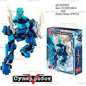 Конструктор «Супер-робот», 274 элемента, M38-B0215