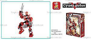 Конструктор «Супер-робот», 285 элементов, M38-B0212