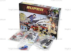Детский конструктор «Супергерой», 178 деталей, 99023, фото