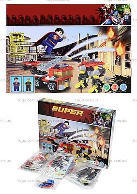 Детский конструктор «Супергерой», 178 деталей, 99023