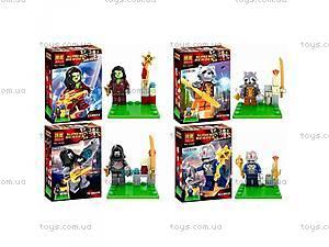 Конструктор «Супергерои на подставке», 10256-7-8-9