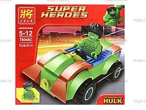 Детский конструктор «Техника Супергероев», 78048, отзывы