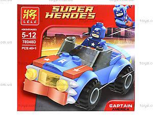 Детский конструктор «Техника Супергероев», 78048, цена
