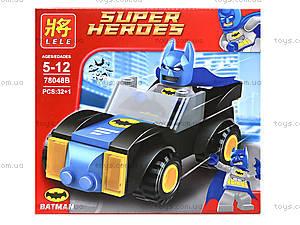 Детский конструктор «Техника Супергероев», 78048, игрушки