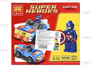 Детский конструктор «Техника Супергероев», 78048, детские игрушки
