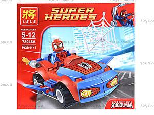Детский конструктор «Техника Супергероев», 78048, магазин игрушек