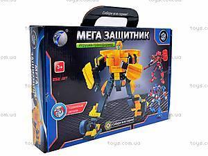 Конструктор-трансформер, детский, 8328R, фото