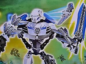Конструктор-трансформер Hero 4, 10088, игрушки