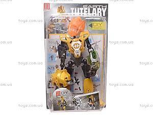 Конструктор-трансформер игрушечный, 2012-3, детские игрушки