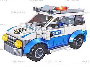 Конструктор-трансформер Police, TS30100A-1, фото