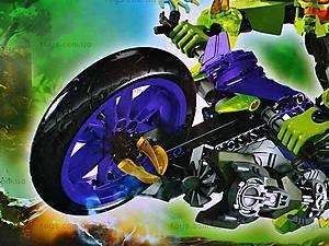 Конструктор-трансформер с мотоциклом, 10188, цена