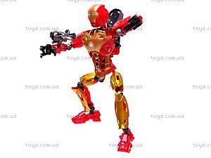 Конструктор-трансформер «Super Hero», 8906, отзывы