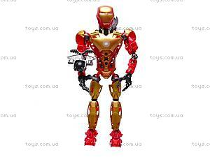Конструктор-трансформер «Super Hero», 8906, детские игрушки