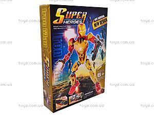Конструктор-трансформер «Super Hero», 8906, toys