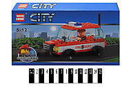 Конструктор - транспорт серии «СITY», 89001, отзывы