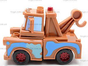 Детский конструктор-машинка «Тачки», TT-Z9512A, купить