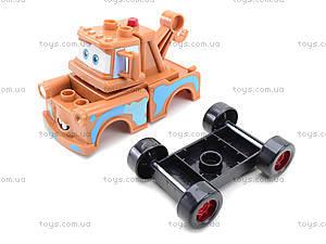 Детский конструктор-машинка «Тачки», TT-Z9512A, отзывы