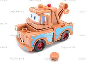 Детский конструктор-машинка «Тачки», TT-Z9512A, игрушки