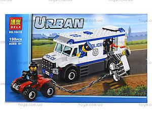 Конструктор Urban «Дерзкий побег», 198 деталей, 10418, фото