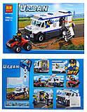 Конструктор Urban «Дерзкий побег», 198 деталей, 10418, отзывы