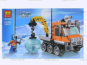 Конструктор Urban Arctic «Полярный транспорт», 119 деталей, 10438, купить