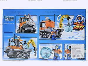 Конструктор Urban Arctic «Полярный транспорт», 119 деталей, 10438, фото
