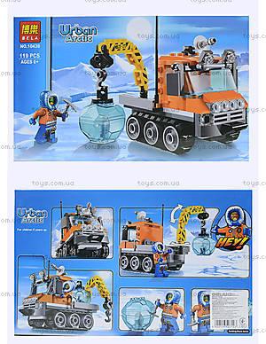 Конструктор Urban Arctic «Полярный транспорт», 119 деталей, 10438