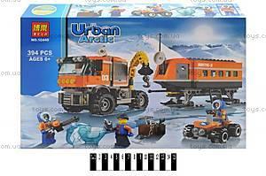 Конструктор Urban Arctic «Полярный транспорт», 394 детали, 10440