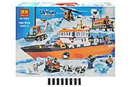 Конструктор Urban Arctic «Полярный транспорт», 760 деталей, 10443, фото