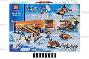 Конструктор Urban Arctic «Полярный транспорт», 783 детали, 10442