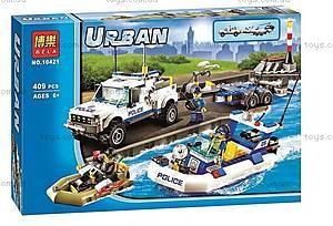 Конструктор Urban City Police Patrol, 409 деталей, 10421