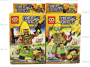 Детский конструктор Merge Dinos, MX-J08, купить