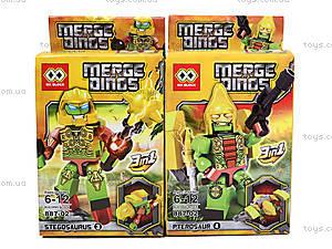 Детский конструктор Merge Dinos, MX-J08, отзывы