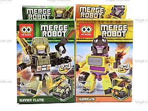 Конструктор для мальчиков Merge Robot, MX-J012, фото
