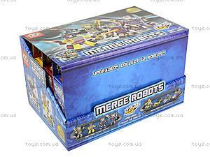 Конструктор для мальчиков Merge Robot, MX-J012, отзывы