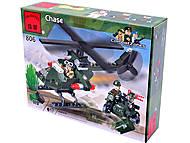 Конструктор «Вертолет», 119 элементов, 806, купить игрушку