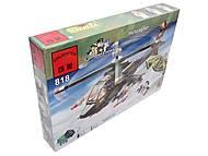 Конструктор «Вертолет», 275 элементов, 818, игрушки