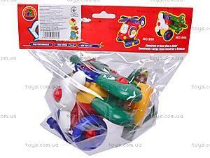 Конструктор «Вертолет», 946, детские игрушки