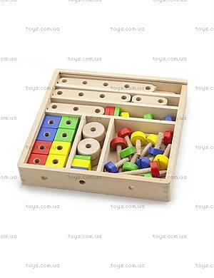 Обучающий конструктор для малышей от Viga Toys, 50490VG