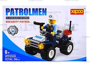 Конструктор «Патрульная машина», XP93505, фото