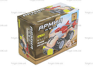 Игровой конструктор «Машина с ракетами», 39 деталей, 22108, купить