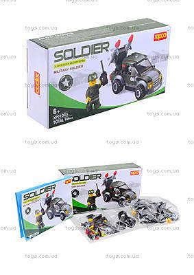 Конструктор для детей «Военная машина», XP91006