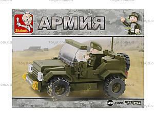 Конструктор «Военный джип», 115 элементов, M38-B0296, фото