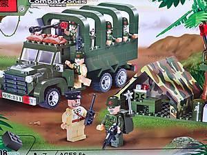 Конструктор «Военный грузовик», 811, фото