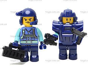 Конструктор «Военный спецназ», 155 деталей, M38-B0196R, іграшки