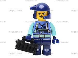 Конструктор «Военный спецназ», 258 деталей, M38-B0199R, іграшки