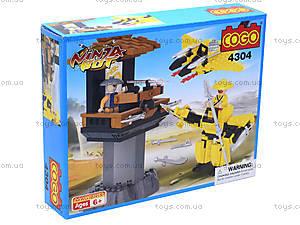 Конструктор «Воин-ниндзя», 4304, игрушки